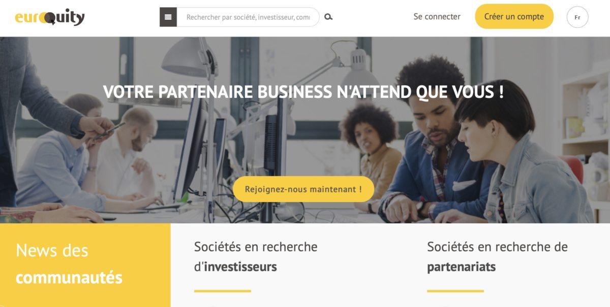 image du site BPI France avec un groupe de personne en situation de travail